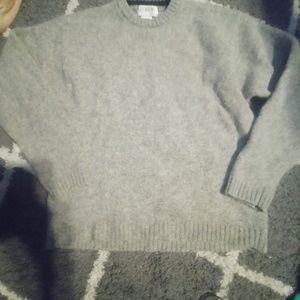 nWOT J Crew Shetland Wool Knit Crew Neck Sweater M